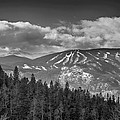 Colorado Ski Slopes In Black And White by James BO Insogna