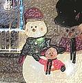 Colorado Snowman Family 1 12 2011 by Feile Case
