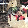 Colorado Snowman Family 2 12 2011 by Feile Case