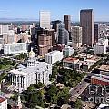 Colorado State Capitol Building Denver by Bill Cobb