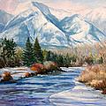 Colorado Winter On The Arkansas River by Frederick Hubicki