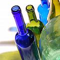 Colored Bottles by Gina Dsgn