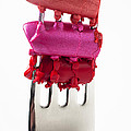 Colored Lipstick On Fork by Garry Gay