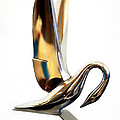 Colored Packard Hood Ornament by Marilyn Hunt
