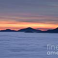 Colored Sunset by Maurizio Bacciarini