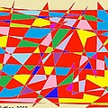 Colored Triangles by Bruce Nutting
