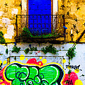 Colored Wall by Edgar Laureano