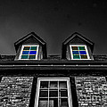 Colored Windows by Mitch Shindelbower