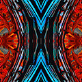 Colorful Abstract Art - Expanding Energy - By Sharon Cummings by Sharon Cummings