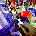 Colorful Abstract Geometric Cluster by Phil Perkins