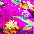 Colorful Abstract Of Oil And Water by Imagery by Charly