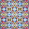 Colorful Angles Pattern by Phil Perkins