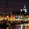 Colorful Annapolis Evening by Jennifer Casey