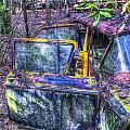 Colorful Antique Car 1 by Douglas Barnett