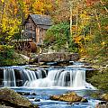 Colorful Autumn Grist Mill by Lori Coleman