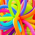 Colorful Balloons Background by Anna Om