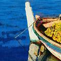 Colorful Boat by George Atsametakis