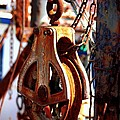 Colorful Boat Pully by Carol Groenen