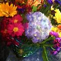 Colorful Bouquet by Sandy Harrison