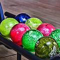 Colorful Bowling Balls by Paul Ward