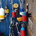 Colorful Buoys by Christine Fournier