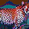 Colorful Cheetah by Elinor Mavor