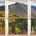 Colorful Colorado Rustic Window View by James BO  Insogna