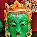 Colorful Cultural Masks Made Of Papier by Jaina Mishra