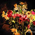 Colorful Cut Flowers - V3 by Les Palenik