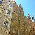 Colorful Czech Buildings II by Hannah Rose