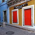 Colorful Doors Guanajuato Mexico by John Shaw