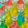 Colorful Drink Bottles by Grigorios Moraitis