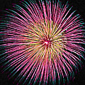 Colorful Fireworks by Jeelan Clark