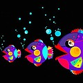 Colorful Fish Creation by Don Kuing