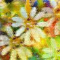 Colorful Floral Abstract II by Debbie Portwood