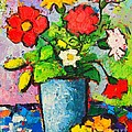 Colorful Flowers From My Garden by Ana Maria Edulescu