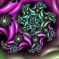 Colorful Fractal by Gabiw Art