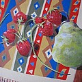 Colorful Fruit by Sharon Casavant