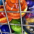 Colorful Glass Balls by Susan Garren