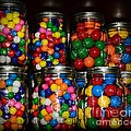 Colorful Gumballs by Paul Ward