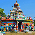 Colorful Hindu Temple by Image World