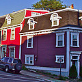 Colorful Homes In Saint John's-nl by Ruth Hager