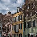 Colorful Homes Of Charleston by Dale Powell