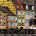 Colorful Homes Of La Petite Venise In Colmar France by Greg Matchick