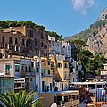 Colorful Houses In Capri by Dany Lison