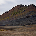 Colorful Icelandic Mountain by Anthony Doudt