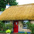 Colorful Irish Cottage by Charlie and Norma Brock