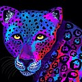 Colorful Jaguar by Nick Gustafson