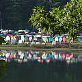 Colorful Kayaks by David Dittmann