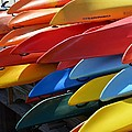 Colorful Kayaks by Toby McGuire